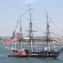 USS Constitution is the world's oldest floating commissioned naval vessel.