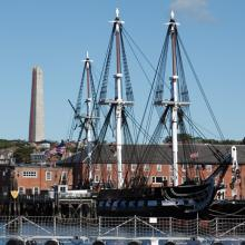 The USS Constitution is the world's oldest floating commissioned naval vessel.